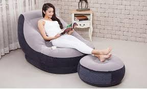 Intex Inflatable Sofa With Footrest by Intex 68564 Inflatable Sofa Bed Air S End 6 1 2018 4 59 Pm
