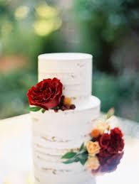 Sweet And Rustic Fall Wedding Cake