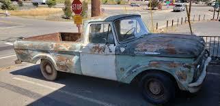 1960 Ford F100 Unibody Pickup Truck Running (rough) Registered ...