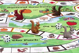 Its A Squirrels LifeTM Board Game Deluxe Version Limited Edition