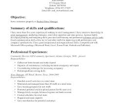 Resume For Cashier In Retail 8 Sample Example