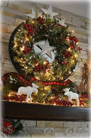 Christmas Tree Types Canada by Dining Delight Canadian Cabin Christmas Mantel