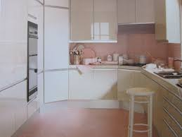 Perhaps The Theory Here Was That If You Felt Nauseous Upon Entering This Pink Kitchen Pepto Bismol Like Qualities Of Room Would Simultaneously Ease