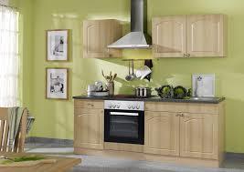 küchenzeile 210 cm mit elektrogeräte und dunstabzugshaube