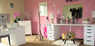 Updated Beauty Room Tour Office Youtube Clipgoo Stage Design Ideas Deck Designs Cupcake