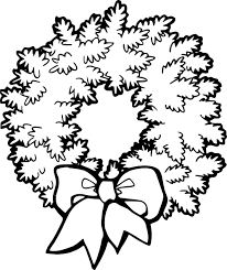 Christmas Decorations Coloring Page Printable