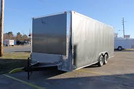 100 Arrow Trucking Tulsa Ok 85 X 20 Enclosed Car Hauler Trailer Trailer Sales Hitch It