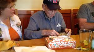 Bob s 93rd birthday at Olive Garden Killeen