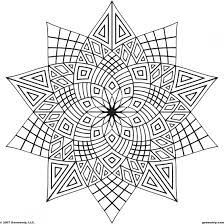 5 Printable Abstract Coloring Pages For Stress Relief