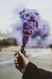 purple grunge and smoke image purple by l and g