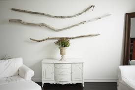 Driftwood Wall Decoration Recycled Things For Art Within Designs 14