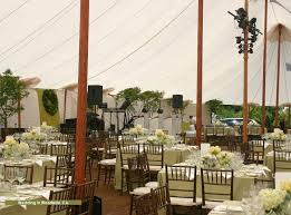Rustic Wedding Tent Decorations Under The Big Chic