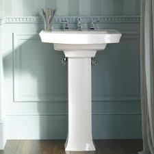 kohler small pedestal sink befon for