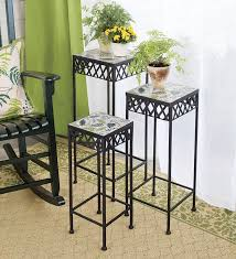 Outdoor Patio Plant Stands by Furniture Creations Review Plant Stands Outdoor Front Yard