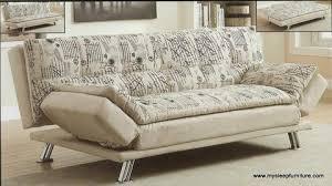 373 fabric pillow top klik klak sofa bed with folding arms mysleep