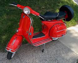 Custom Retro Vespa Scooters