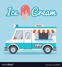 100 Icecream Truck Ice Cream Truck Royalty Free Vector Image VectorStock