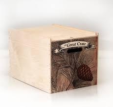 Open Season Tackle Wood Crate