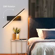led wand lichter 110v 220v einstellbare dreh wand le