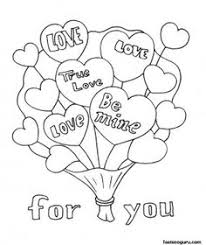 Free Printable Valentines Day Cards Teddy Bears Coloring Pages I Love You Cardfree Online Happy Card Ideas In For