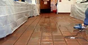 commercial grout and tile services restaurant floor maintenance