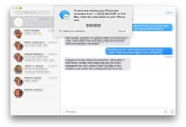 SMS Relay Setup OS X Yosemite