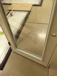 Exterior outswing door