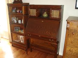 Shaw Walker File Cabinet Lock by Rare Globe Wernicke Bookcase With Desk Drawer Base And Top