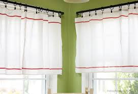 Kitchen Curtain Ideas Diy by Diy Window Treatments Diy Curtains And Shades