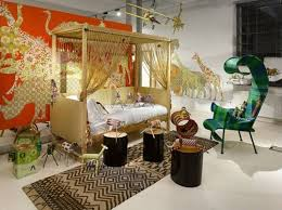 Zoo Bedroom For Kids Digital Wall Art Wallpaper