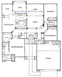 The Mountain View House Plans by Sun City Vistoso Floor Plan Mountain View Model Floor Plan