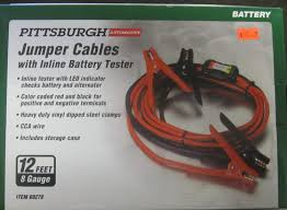 100 Tow Truck Jumper Cables New Pittsburgh Automotive With Inline Battery Tester