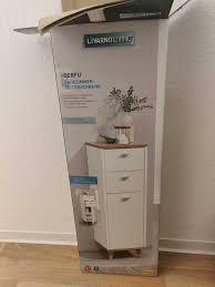 badezimmerschrank neu ovp mit zwei schubladen und tür