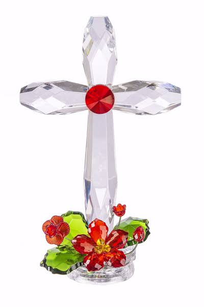 Ganz USA 147815 Standing Holiday Cross - 7.5 in.