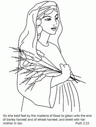 Ruth And Boaz Coloring Pages Free Book Page 58 Nw Judges16 18