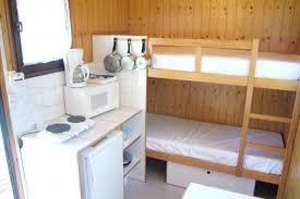 lit superposé pour caravane voyager en