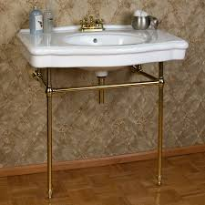 Aquasource Pedestal Sink Rough In by Brass Sink Befon For