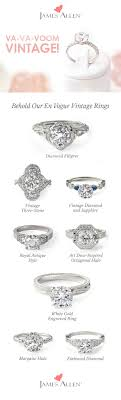 Rustic And Elegant Or Romantic Classic Retro Engagement Ring Styles Find The Perfect Vintage