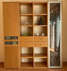 wohnzimmerschrank regal buche brinkmann modul ohne deko