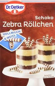 dr oetker schoko zebra röllchen 5er pack 5 x 75 g