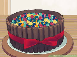 cake decorations how to decorate birthday cakes with pictures wikihow