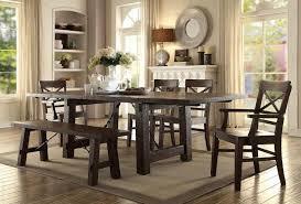 Gettysburg Trestle Dining Room Set