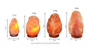 Himalayan Ionic Salt Lamp by Himalayan Crystal Salt Lamps Tranquillity Scio Studio
