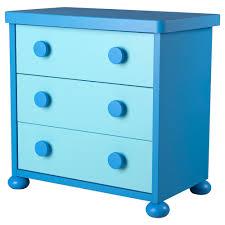 Hemnes 3 Drawer Dresser Blue by Mammut Chest Of 3 Drawers Blue Ikea 儿童家具 Pinterest