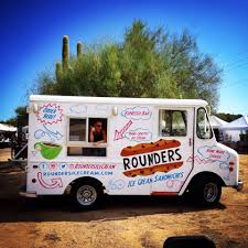 Rounders Ice Cream Sandwiches - Phoenix Food Trucks - Roaming Hunger