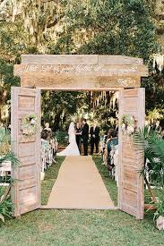Nice Country Wedding Decorations Ideas 35 Rustic Old Door Decor For Outdoor