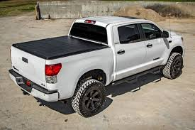 100 Toyota Tundra Truck Bed Covers Soft TriFold Cover For 20072013 Rough Country