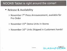 Barnes And Noble NOOK Tablet Details Leaked - SlashGear Nook Simple Touch With Glowlight Barnes Noble The Verge Hror Movie Pops Tentative Street Date 830 Via And Samsung Galaxy Tab A Nook 7 By 9780594762157 Tips For Setting Up Author Readings Book Signings Behind The Scenes Of Rit Robbie Head Education Inc 2017 Q3 Results Earnings Call Rated 15 Stars 36298 Consumers Quietly Recalls Instore Inventory Android Color Careers New Tablet Passes Fcc Testing Checking Inventory At Your Local Thoughts Deeds