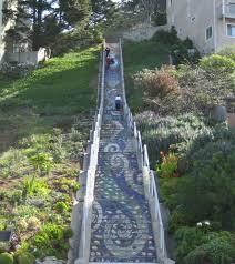 16th avenue tiled steps address run these stairs 16th avenue moraga run