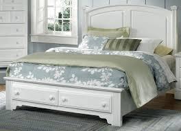 american hamilton franklin queen panel storage bed in snow white